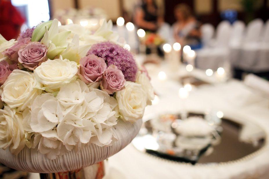 Blumenschmuck Hochzeit, Foto: Thomas Weinhold, Hochzeitslicht für Engel 07