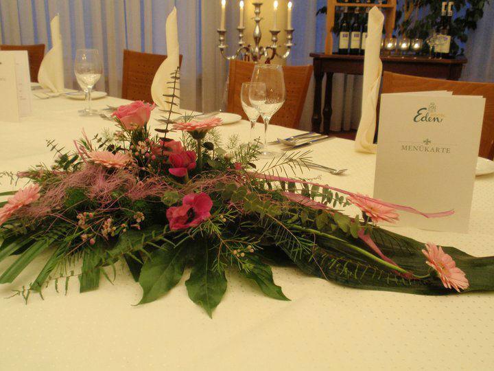 Beispiel: Tischdekoration, Foto: Hotel Eden - Restaurant garbo.