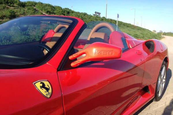 Mille Miglia - Ferrari Vermietung