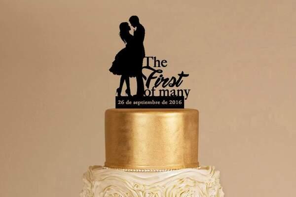 Happy Words: Cake Toppers para decorar tu torta