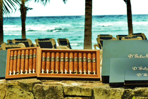Cigar roller show by DSilvas Cigars
