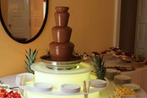 Czekoladowe inspiracje fontanna czekoladowa
