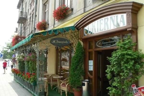 Jutrzenka restauracja Wiedeńska