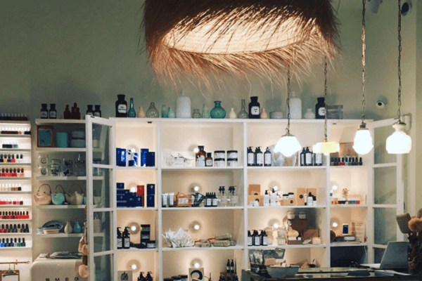 The spa kitchen