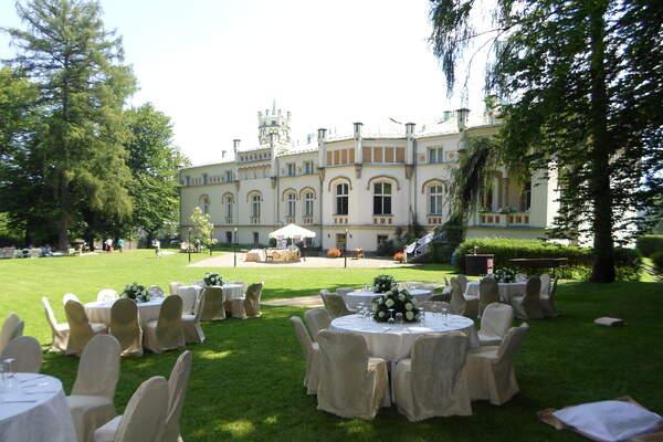 Ogród Pałacu w Paszkówce