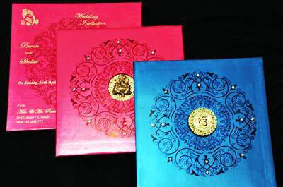 Rachna Wedding Card