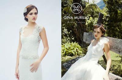 Gina Murillo Vestidos de Novia
