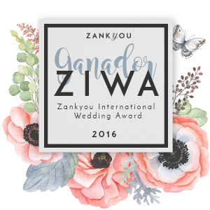 Ganadores de los Zankyou International Wedding Awards 2016 en la categoría de Wedding planners a nivel nacional