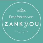 Empfohlen von Zankyou Hochzeiten