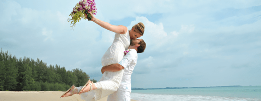 Brautpaarshooting in Khao Lak - Heiraten in Thailand