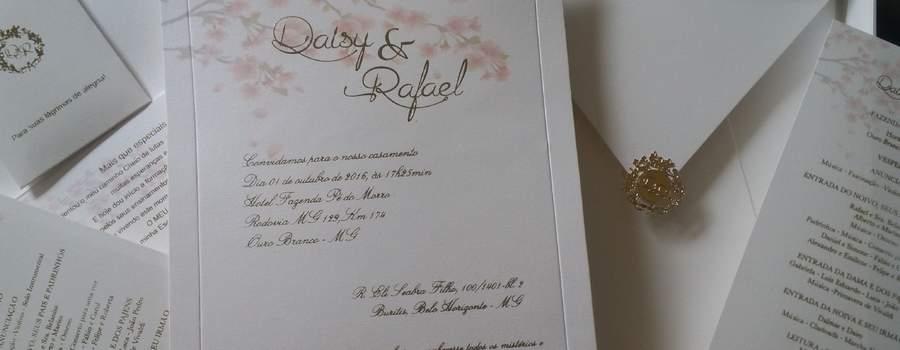 Convites de Casamento Lindos