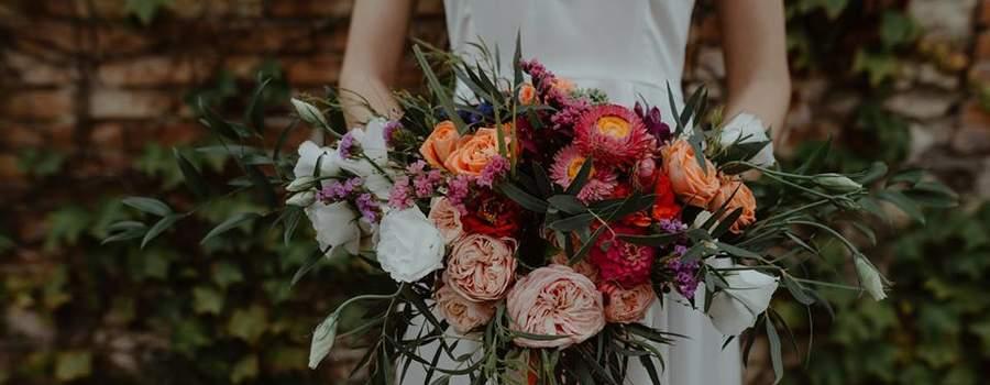 Bouquet de mariée Crédit Photo Vogue Wedding Photography