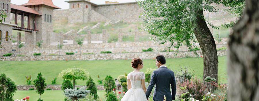 Съемка свадеб в европейском стиле.