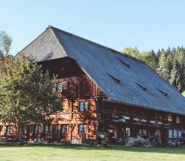Außenansicht der alten Mühle, Foto: Henslerhof