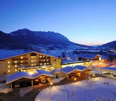 Das Hotel Seehof im Winter