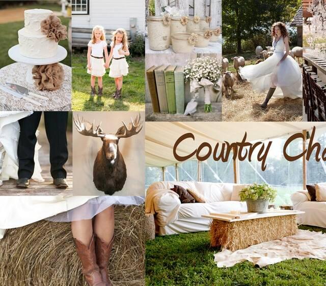Nozza wedding stylist - Country Charm