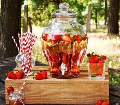 Mesas de dulces Amaranto