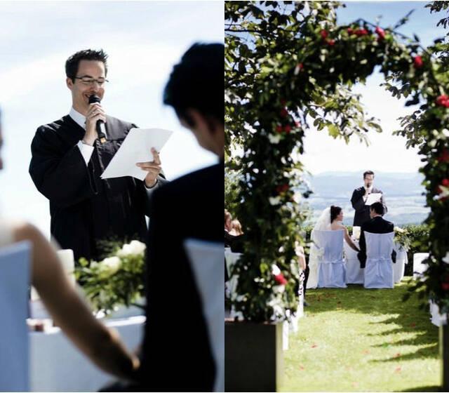 Beispiel: Ihre Wunschtrauung, Foto: Die Hochzeitsredner.