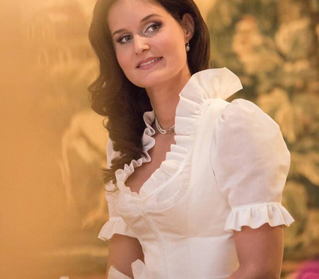 Beispiel: Mode aus einem exklusivem Brautsalon, Foto: Susanne Spatt Salzburg.