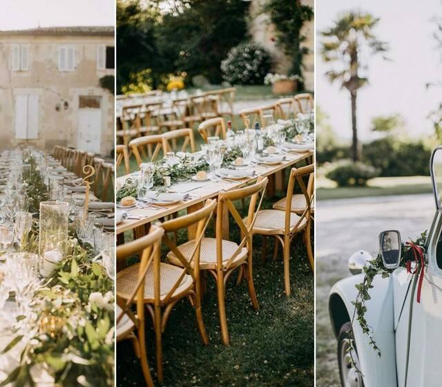 Mariages en extérieurs au Château