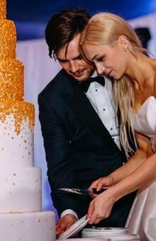 złoty tort jest trendy