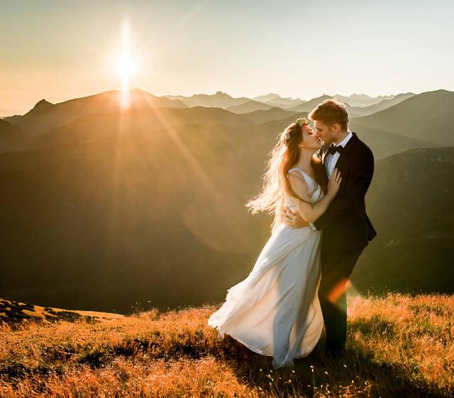 Sesja plenerowa w Tatrach o wschodzie Słońca :)!