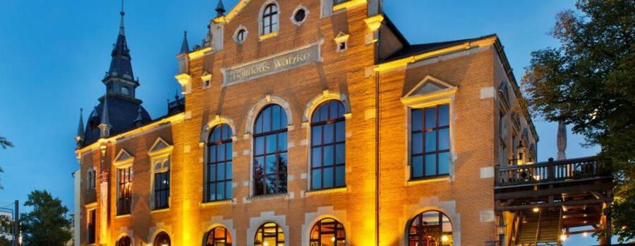 Beispiel: Außenansicht, Foto: Ball&Brauhaus Watzke.