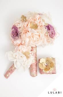LULABI Handmade Flowers/ Ramo, Réplica y Brazalete