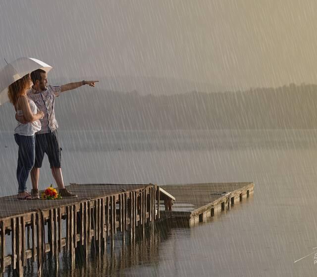 piove sul lago #viverone #lagodiviverone
