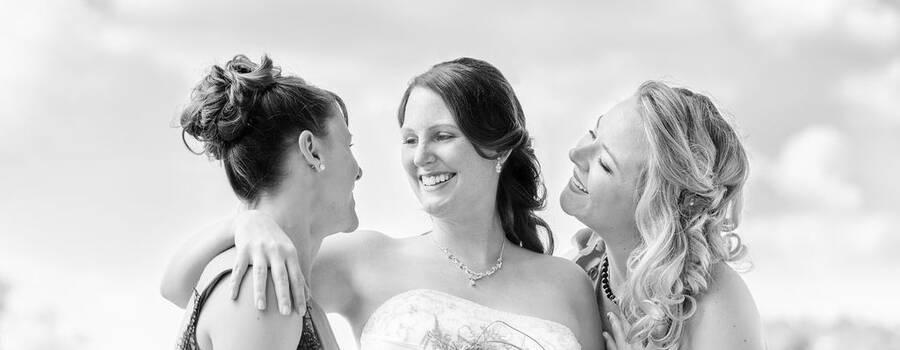 Fotoshootings mit Braut und Brautjungfern