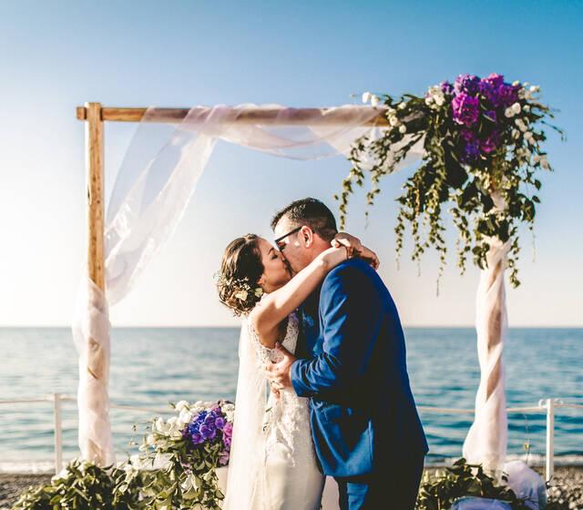 wedding beach in Lipari