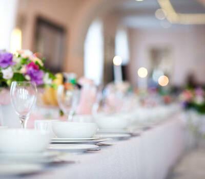 Stół weselny
