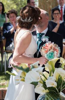 Ramo de novia, Tocado y Prendido