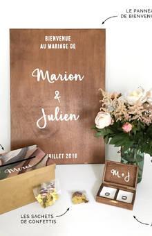 Beaucoup Beaucoup | BOITES DECO MARIAGE