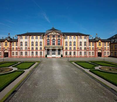 Beispiel: Das Schloss, Foto: Schloss Bruchsaal.