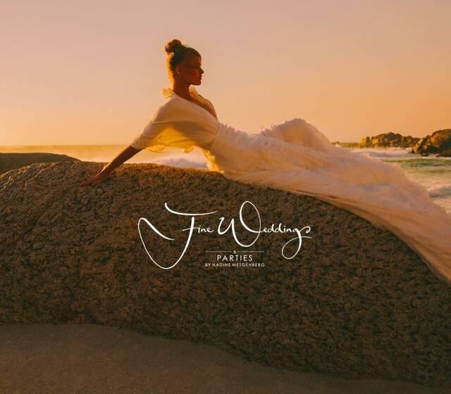 Beach in Kapstadt. Kleid: Sadie Bosworth, Foto: Andrea Kellan