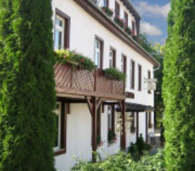 Beispiel: Außenansicht, Foto: Landhaus Rhodaer Grund.