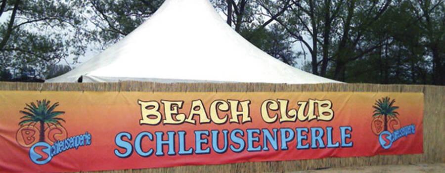 Beispiel: Vorderseite, Foto: Beachclub Schleusenperle.