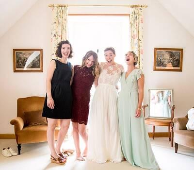 Amédézal® mariage relais château Locguenolé robe Margaux Tardits