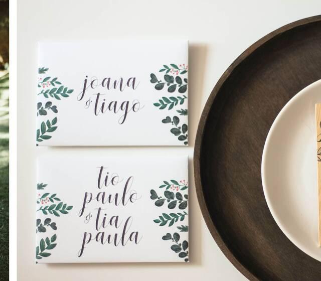 Convites personalizados ' Madeira