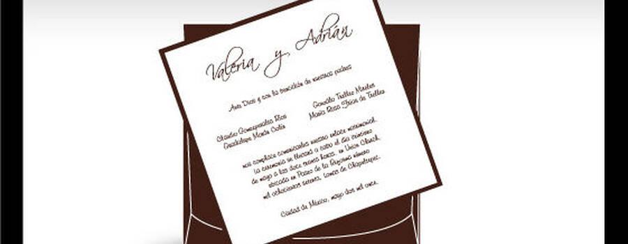 Invitaciones de Boda en la Ciudad de México