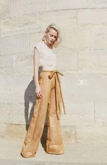 Etienne Jeanson  croptop & pantalon www.etiennejeanson.com
