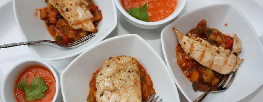 Beispiel: Leckere Speisen, Foto: Skyline Catering & Event's.