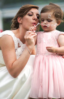 Bride&Little Queen