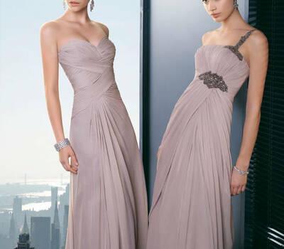 Beispiel: Mode für Brautjungfern, Foto: Zoro Fashion.
