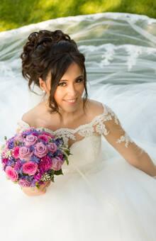 Hochzeitsfoto Büsra aus Vorarlberg