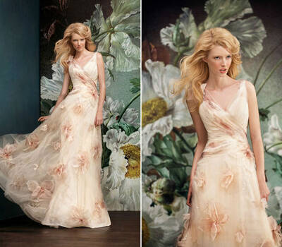 Beispiel: Brautkleider mit dem gewissen Etwas, Foto: Verinas.