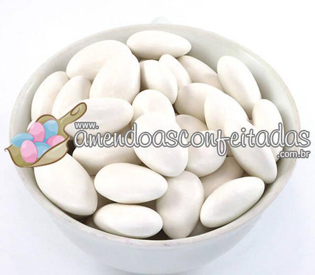 4b74f622669 Amêndoas Confeitadas Branca Premium - Ideal para Casamentos.