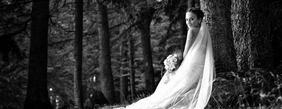 Just Married Bride Sposa - Mario Curti Photographer