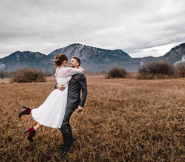 Ich liebe die Berge. Und ich liebe Hochzeiten. Also die perfekte Kombi für mich :)